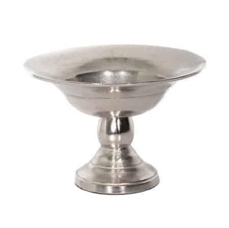 Metal Bowl Vases