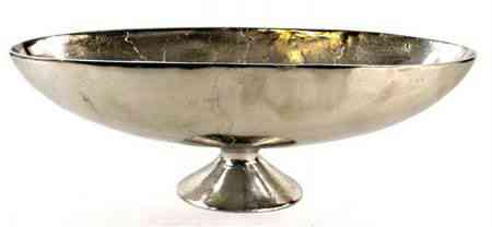 Metal Oval Bowls