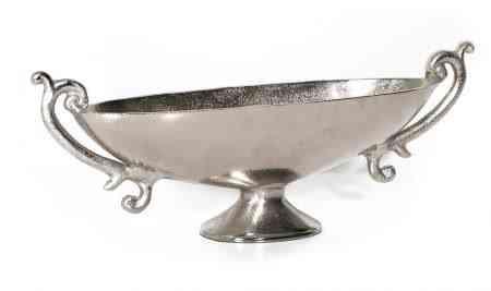 Metal Trophy Oval Bowls