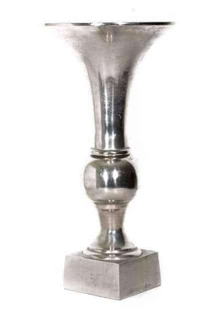 Metal Decorative Floor Vases