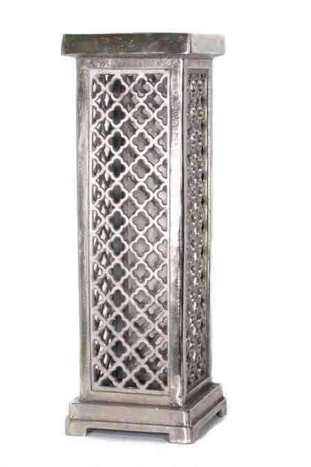 Metal Square Pedestal Columns