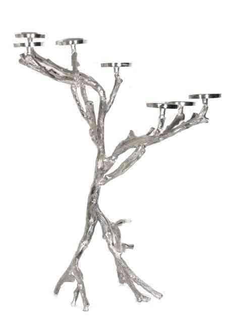 Metal Tree Large Floor Candle Holders