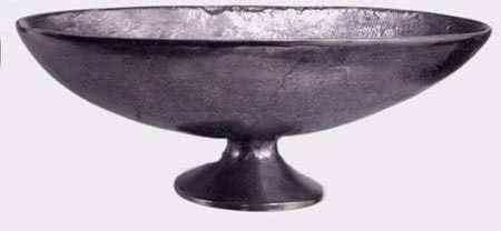 Metal Oval Bowls