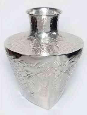 Aluminum Embossed Urn 15.5″H X 12.5″ W