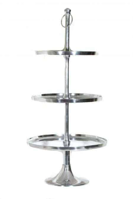 Aluminum Nickle tiered Caddy