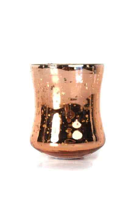 Mercury Glass Votive Cup Candle Holders