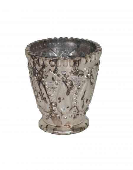 Decorative Mercury Glass Julep Cups