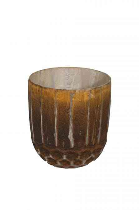 Molter Earth Glass Bowl Vases