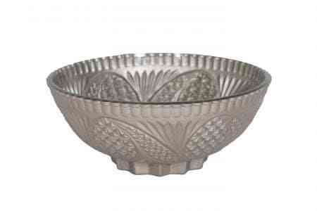 Decorative Glass Matt Bowls 6.5 Inches