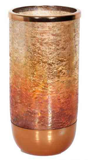 Sunset Mercury Glass Vase 12″