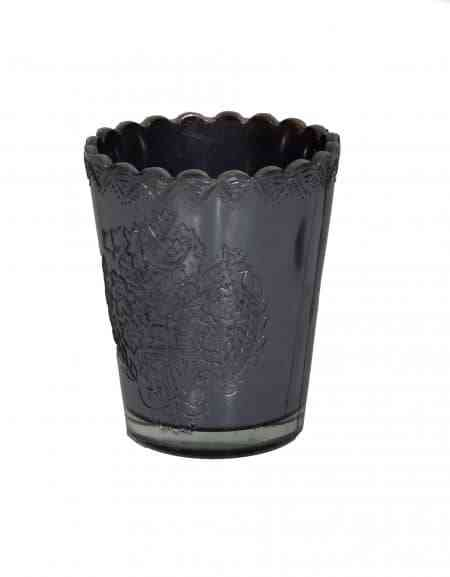 Decorative Mercury Glass Julep Cups