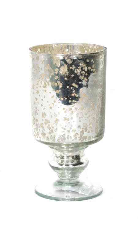Glass Antique Silver Loving Cup 5.5″