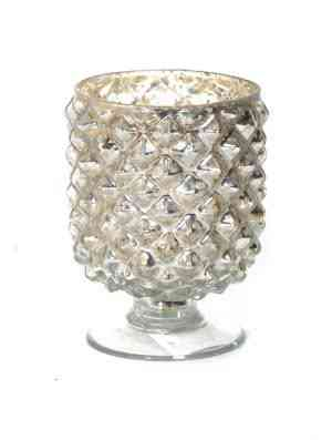 Glass Pinecone Votive Cup