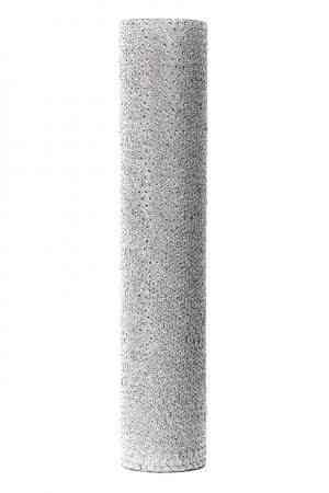 Silver Glass floral Cylinder
