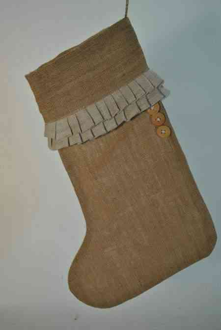 Linen and Jute Stockings