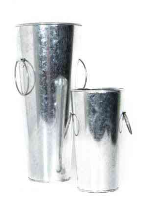 Decorative Glass Jar Vases with Handles