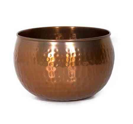 Iron Copper Cache Pot