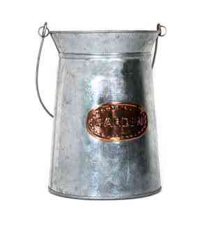 Galvanized Copper Milk Can
