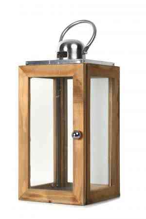 Wood and Steel Lanterns