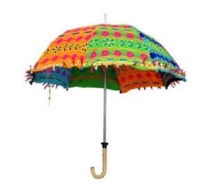 Decorative Fabric Umbrellas