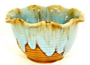 Ceramic centerpiece Bowls various colors