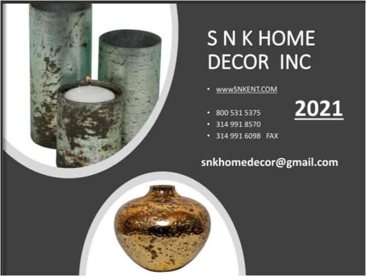 SNK home decor catalog 2021