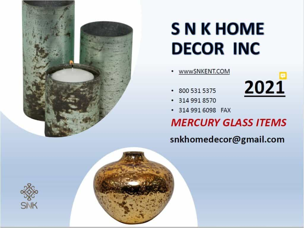 Mercury Glass Catalog