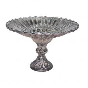Royal Platinam Pesdestal bowl 10″x10″x7″